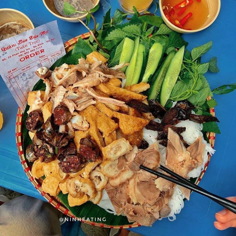 Top 16 Quán lòng, dồi ngon nhất thành phố Hà Nội