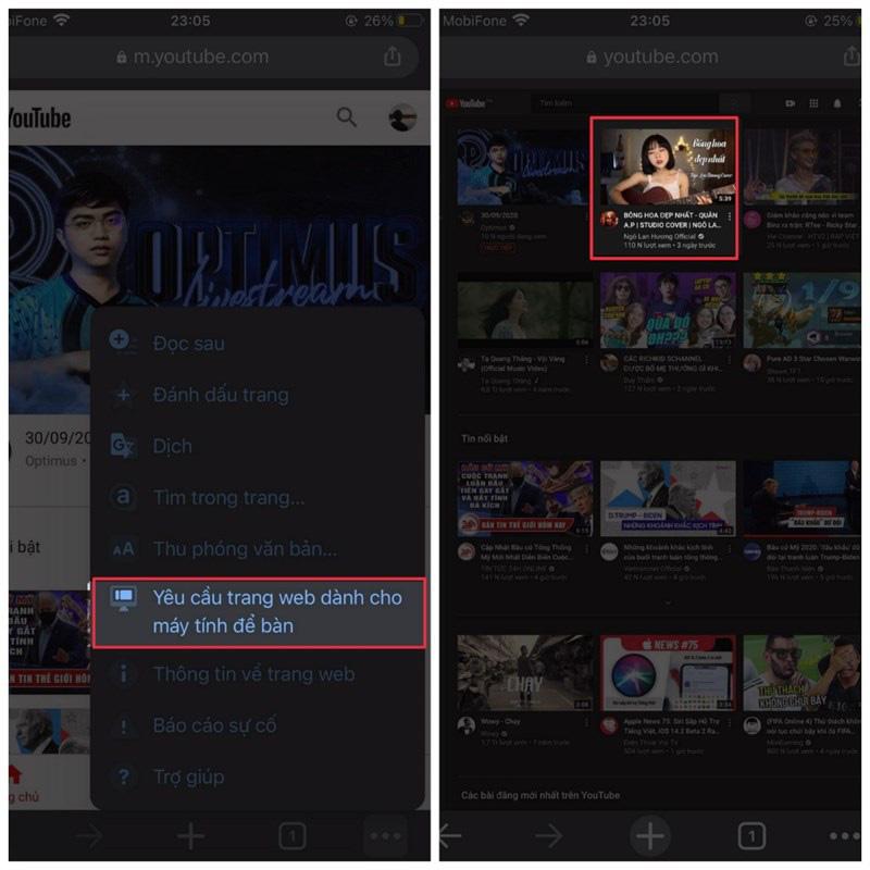Hướng dẫn cách xem YouTube ngoài màn hình iPhone