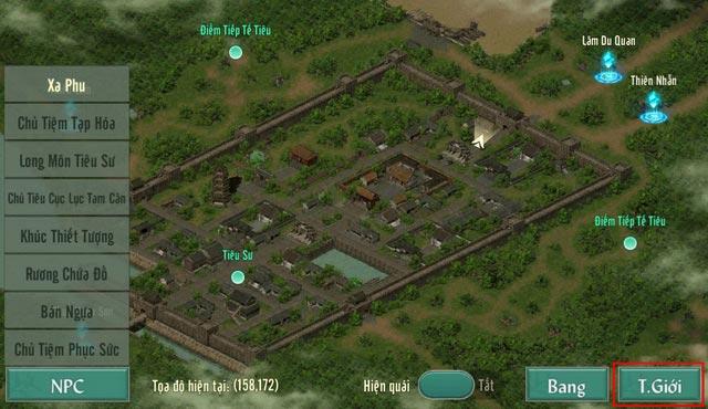 Hướng dẫn các hoạt động trong game VLTK 1 Mobile cho tân thủ