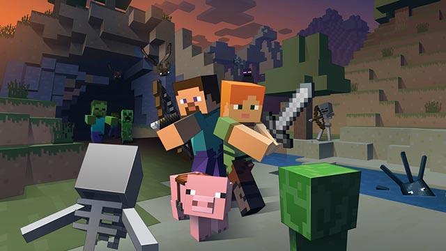 Hướng dẫn cách chơi Minecraft PE với bạn bè trên điện thoại
