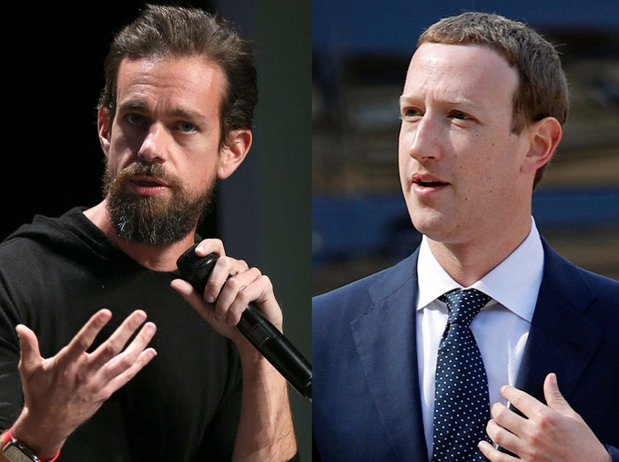 Tin công nghệ (26/8): CEO Twitter nói mỉa CEO Facebook Zuckerberg