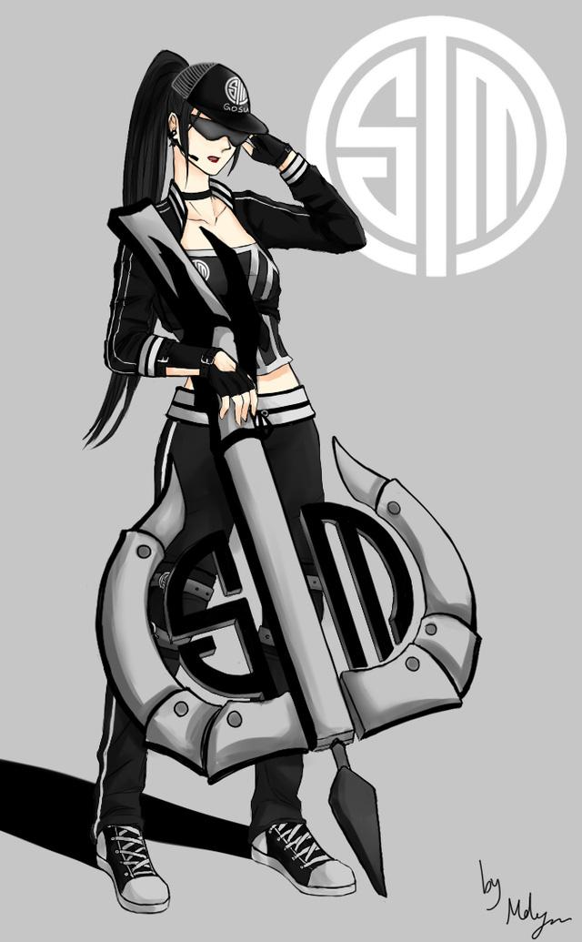Chiêm ngưỡng cosplay TSM Vayne ấn tượng từ fan nữ xinh đẹp của Doublellift và Hi im Gosu