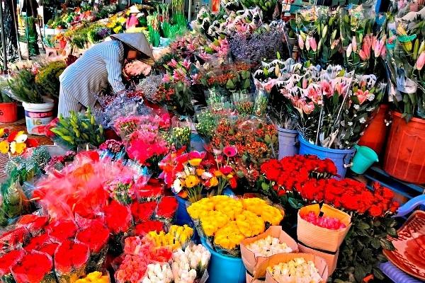 Top 14 Chợ hoa đẹp nhất Hà Nội dịp Tết Nguyên Đán 2021