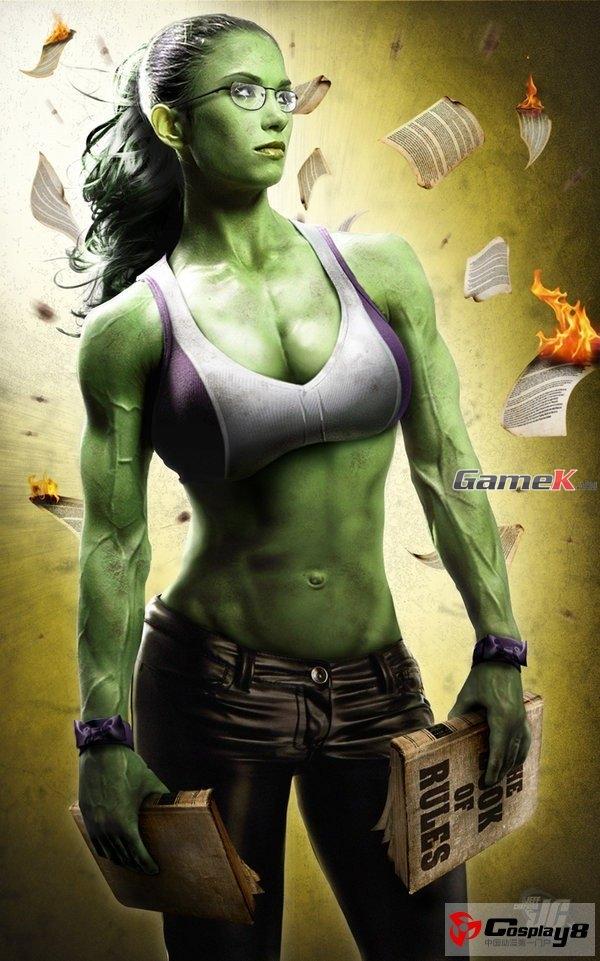 Khi các nữ siêu anh hùng siêu gợi cảm bước ra đời thực