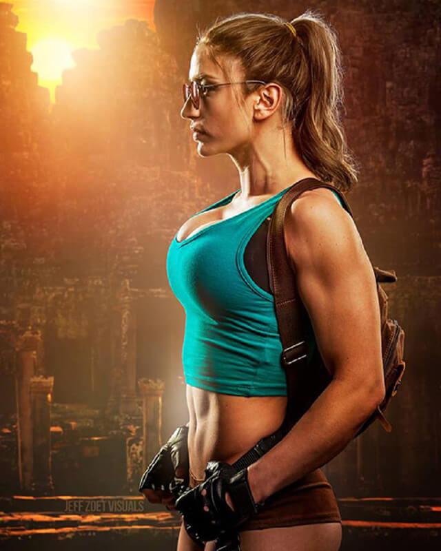 Cosplay Lara Croft chân thực – Ai chê xấu đấm phát chết luôn!
