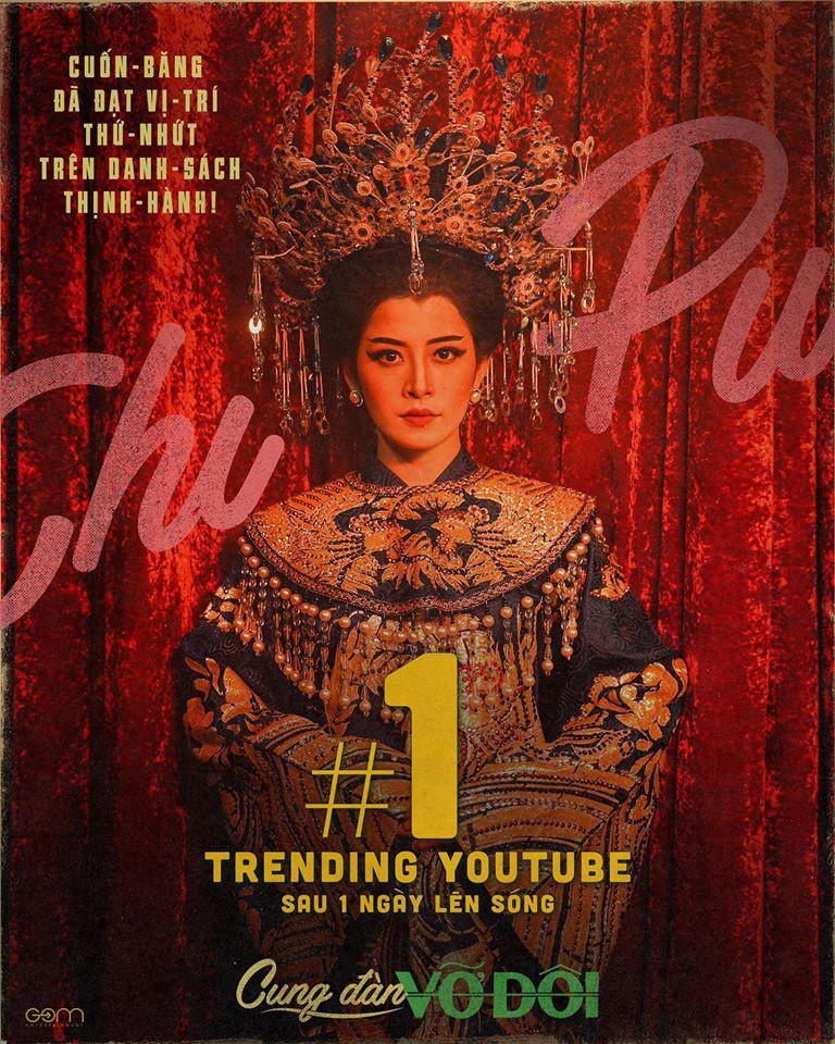 Giọng hát bị chê, Chi Pu vẫn có MV solo Top 1 YouTube nhiều nhất Vpop