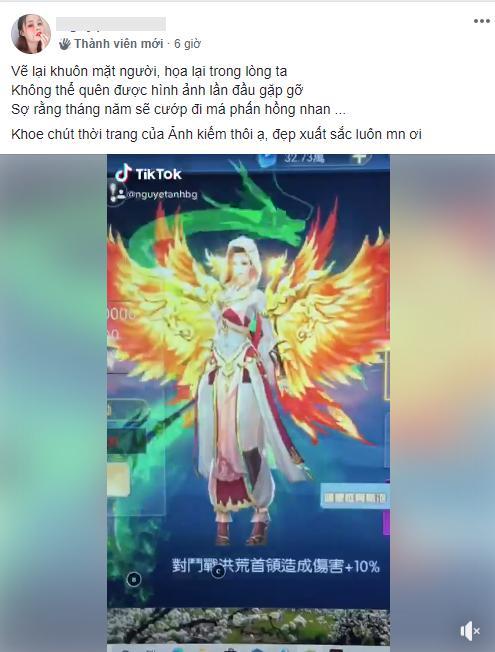 """Để avatar 18+ """"mướt mát"""", nữ game thủ được đại gia Trung Quốc tuyên bố """"bao nuôi"""" nhưng nhận xét về trai Việt của cô mới là điều gây """"sốc"""""""