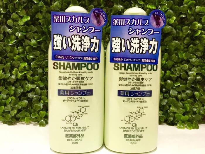 Top 7 Dầu gội trị rụng tóc Nhật Bản hiệu quả nhất hiện nay