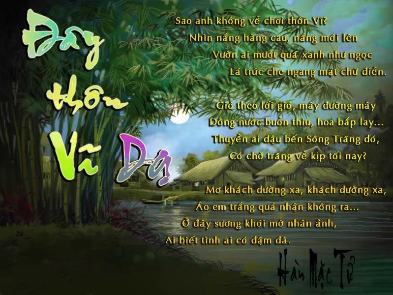 Top 10 Bài thơ hay nhất của nhà thơ Hàn Mặc Tử