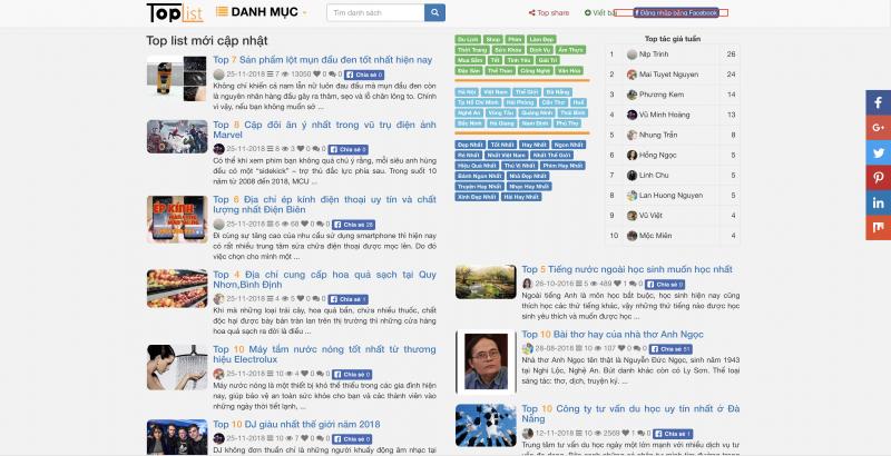 Top 5 Cách kiếm tiền online trên Toplist.vn