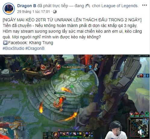 LMHT: Dragon B hoàn thành thử thách 2 ngày leo từ unrank lên Thách Đấu, cộng đồng lại được phen cãi nhau ỏm tỏi