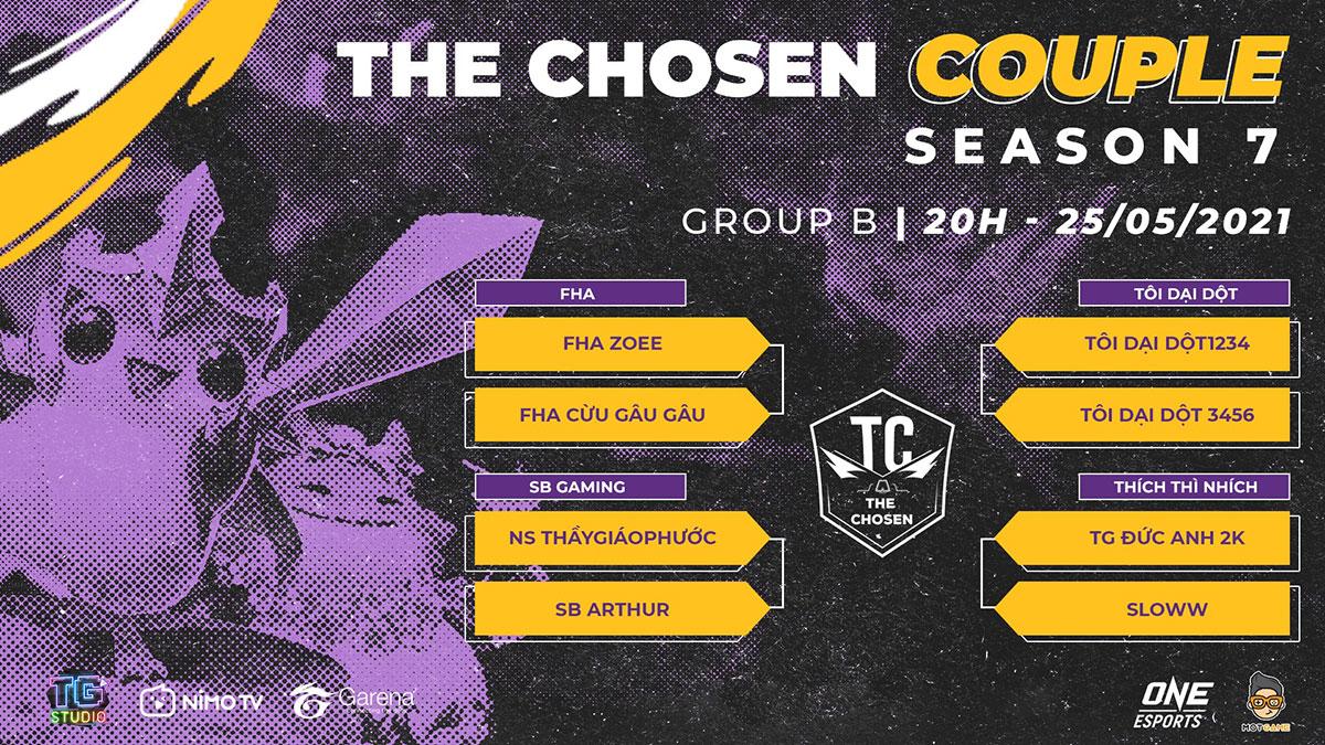 ĐTCL: Kết quả Bảng D của giải đấu The Chosen mùa 7 – The Chosen Couple