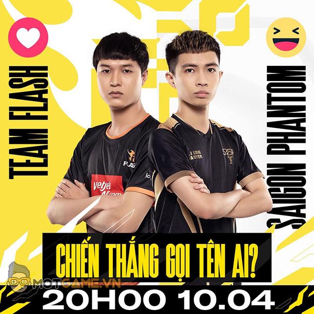 ĐTDV: Team Flash tái đấu Saigon Phantom – Ngôi đầu đổi chủ?