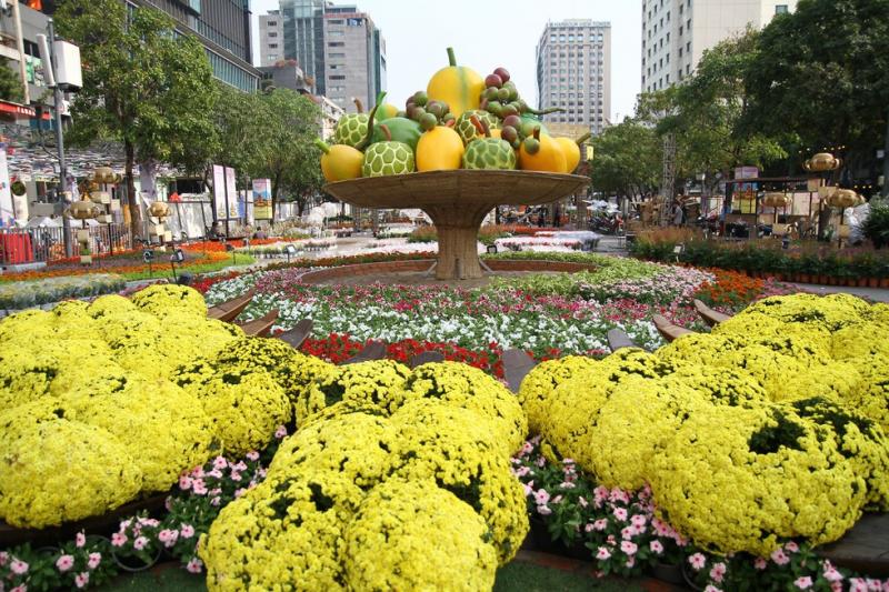Top 9 địa điểm chụp ảnh Tết đẹp nhất ở Sài Gòn