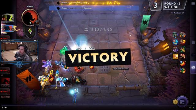 Shroud thử sức với Underlord, chứng minh nhân phẩm thượng thừa khi giành ngay top 1