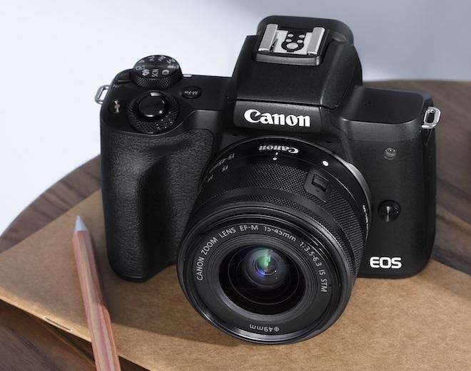Ra mắt Canon EOS M50 Mark II có thể livestream, quay video TikTok