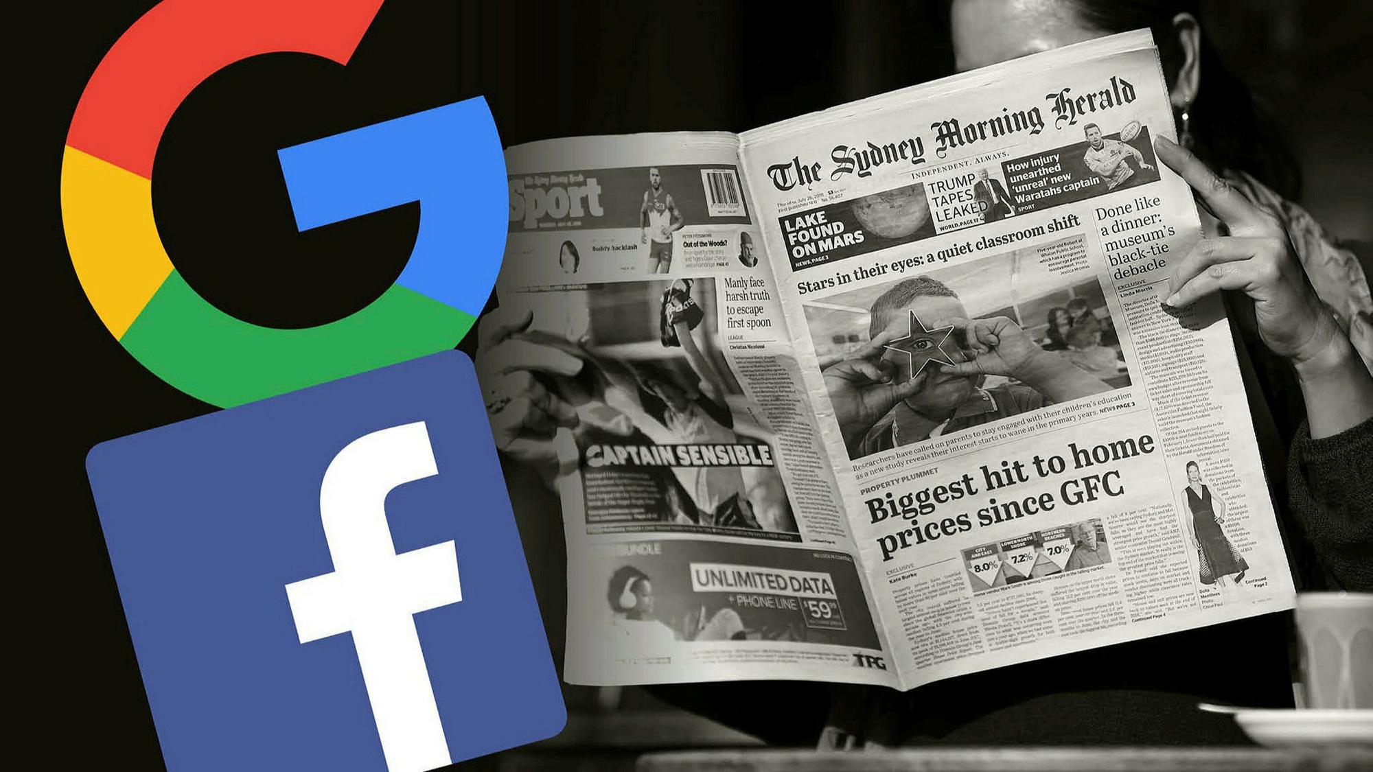 Úc quyết không nhượng bộ Facebook