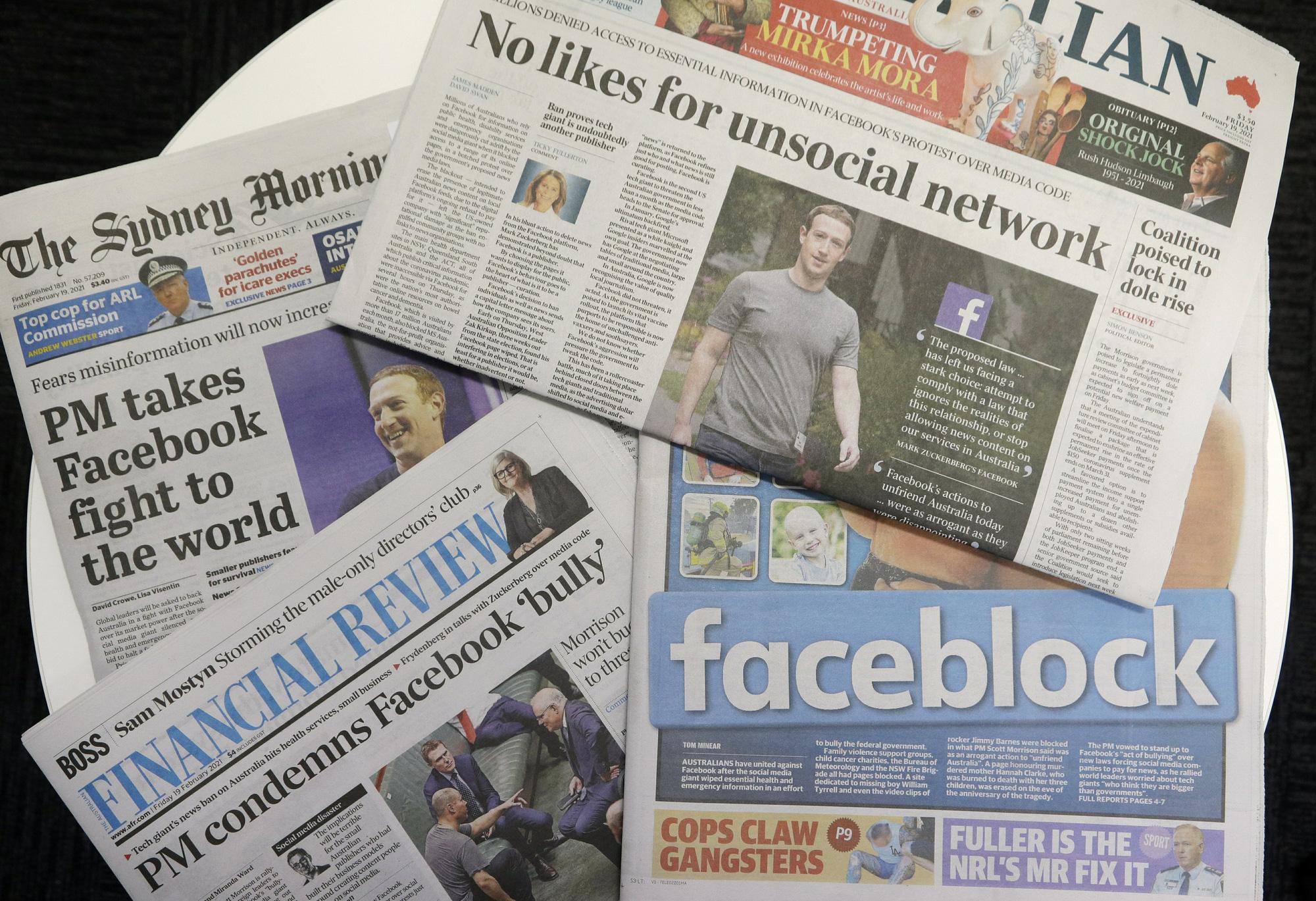 Facebook phản đòn nước Úc: liệu ai thắng, ai thua?