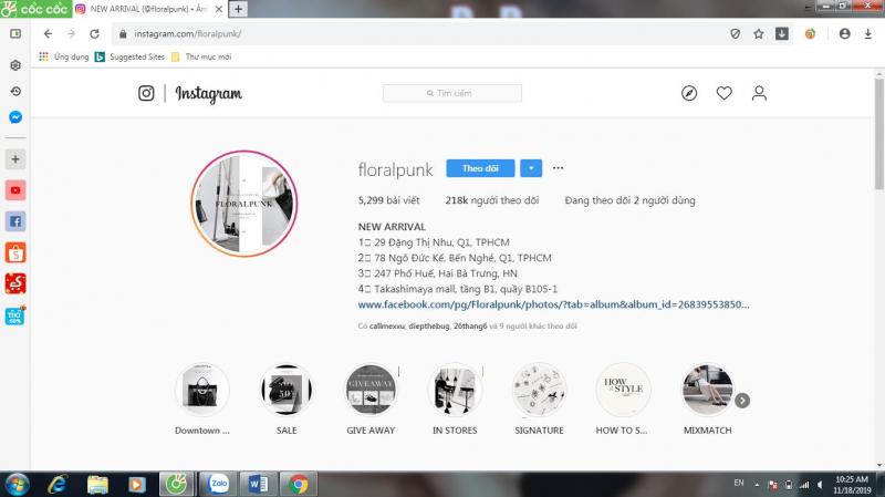 Top 10 Địa chỉ bán trang sức nổi tiếng nhất Instagram