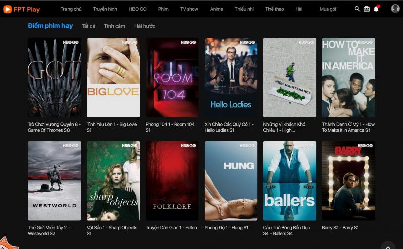 Top 10 Website xem phim online tốt nhất Việt Nam