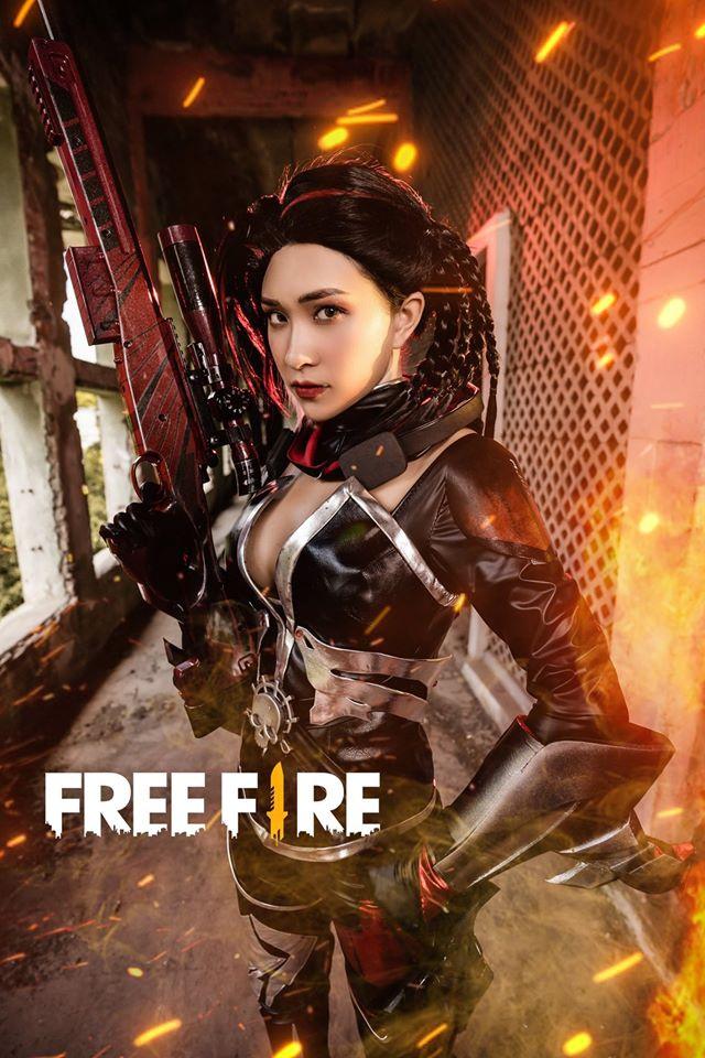 Chùm ảnh Cosplay đậm chất điện ảnh của Free Fire