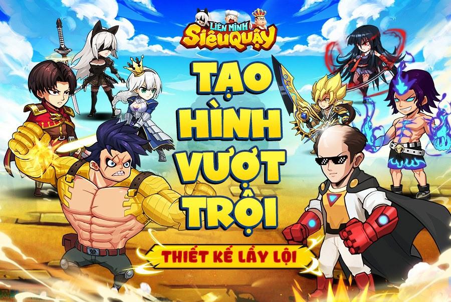 Liên Minh Siêu Quậy – Game mobile manga 'lầy lội' sắp ra mắt tại Việt Nam
