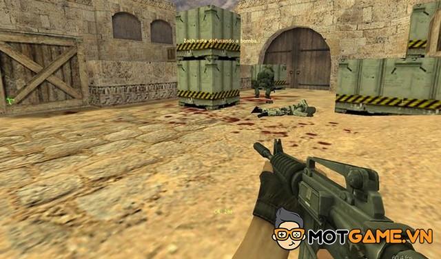 Counter-Strike được fan hâm mộ chuyển thể sang Nintendo DS