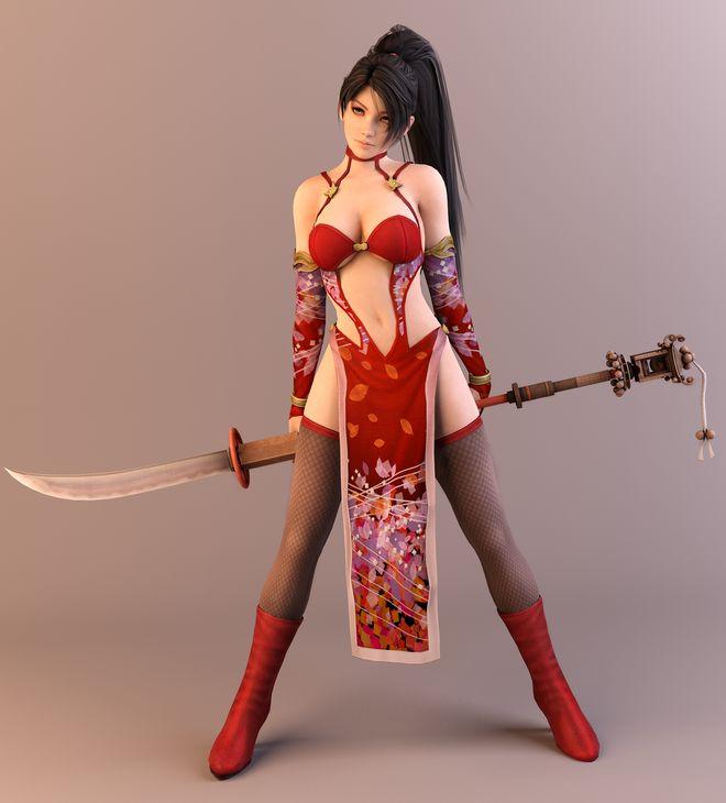 Top 5 bộ trang phục sexy nhất trong thế giới game