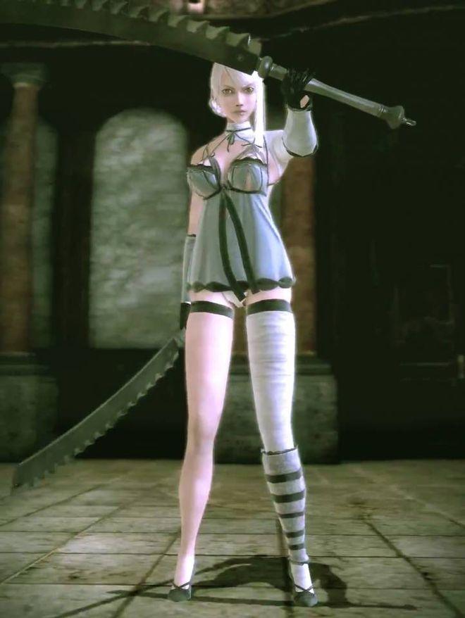 Những nhân vật nữ siêu xinh đẹp nhưng lại có giới tính rất quái đản trong game