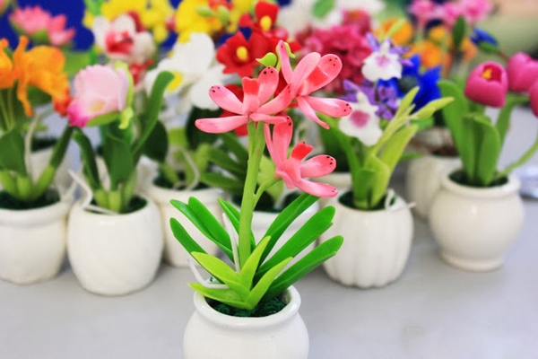 Top 9 Cửa hàng hoa đất sét nổi tiếng nhất tại TP. Hồ Chí Minh