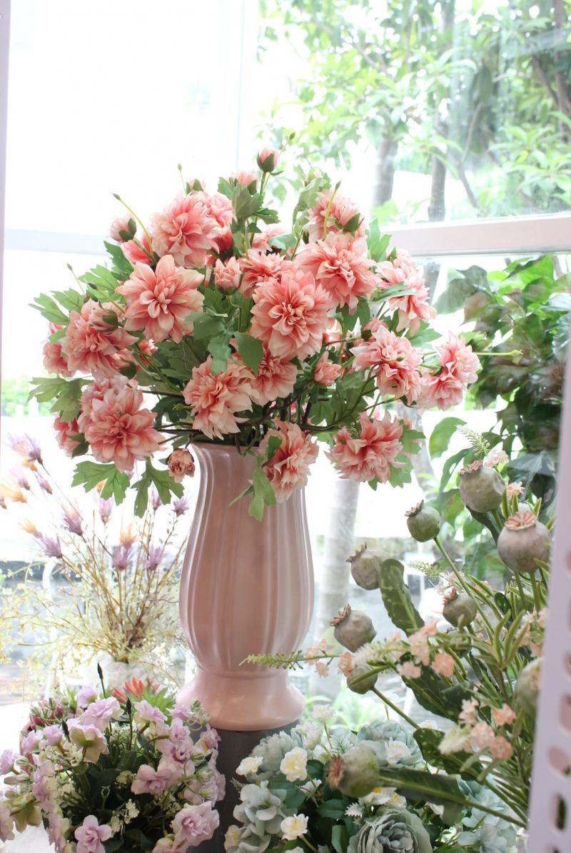 Top 10 Shop bán hoa lụa đẹp nhất ở Hà Nội