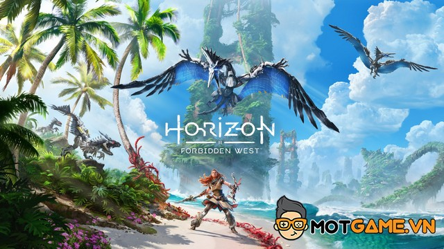 Horizon Forbidden West công bố đồ họa trên PS5 cực chất!