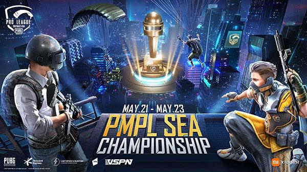 HVNB, Infinity IQ và Eagle Esports đại diện Việt Nam tranh tài tại PMPL SEA Championship S3