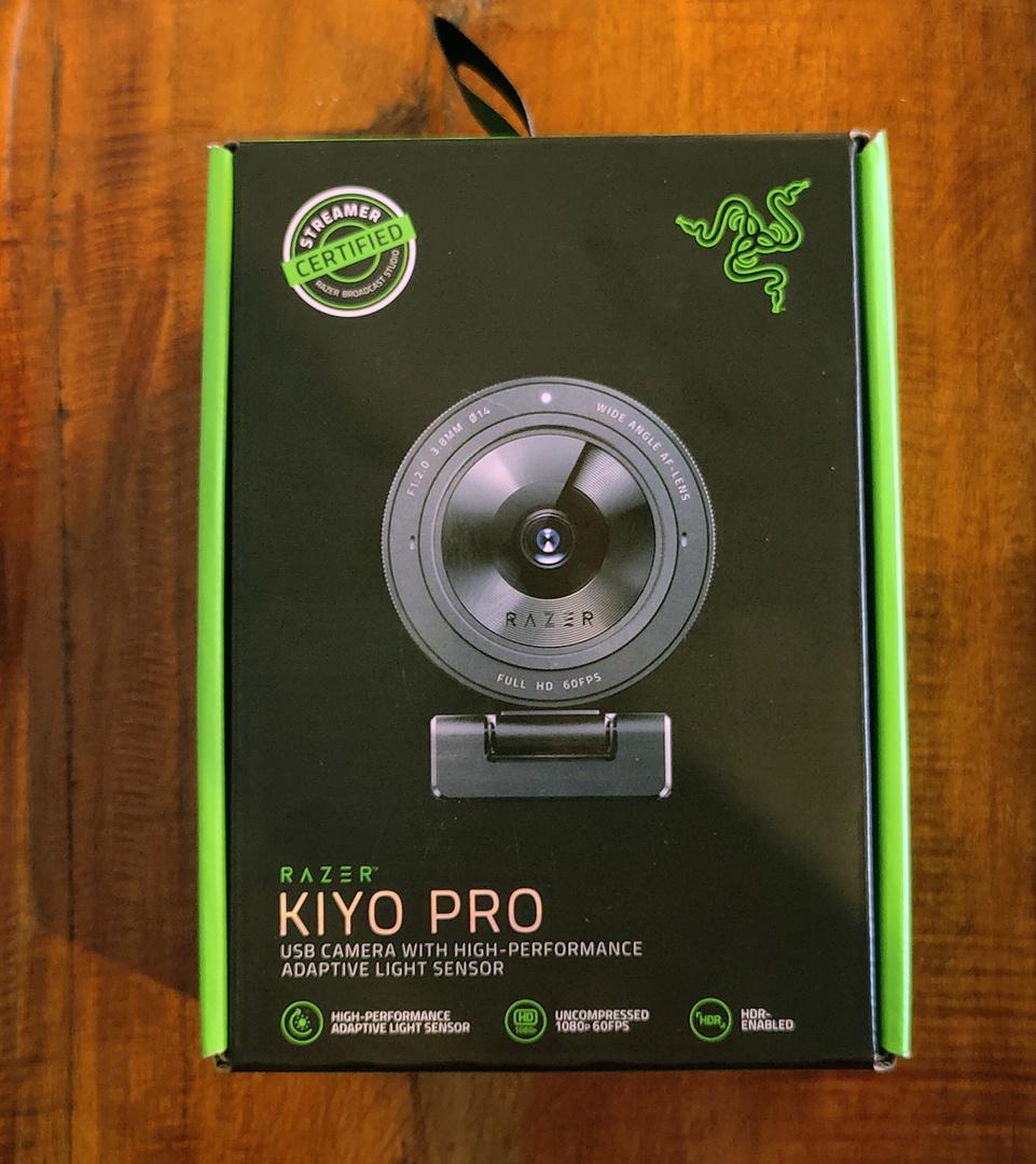 Razer Kiyo Pro – Webcam cho nhà sáng tạo nội dung và streamer chuyên nghiệp