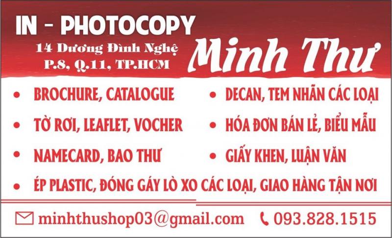 Top 6 Tiệm photocopy uy tín nhất tại TP. HCM