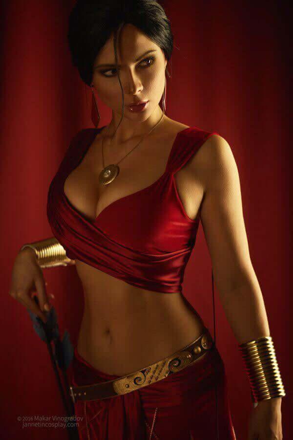 49 tấm ảnh cosplay chứng tỏ độ gợi cảm ngợp trời của cosplayer Jannet Vinogradova