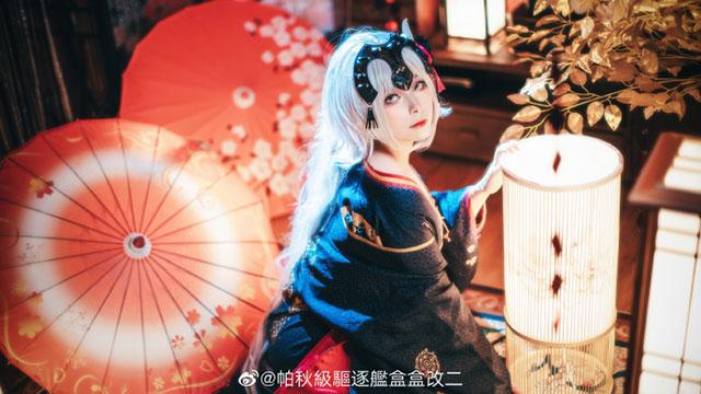 Diện kimono truyền thống nhưng Jeanne d'Arc FGO vẫn sexy khó cưỡng