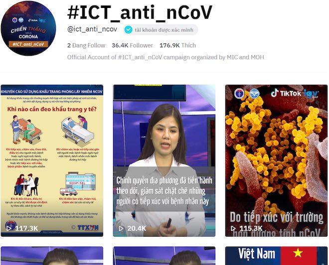 Bộ Y tế và Bộ TT&TT mở kênh chính thống cập nhật về dịch Covid-19 trên TikTok