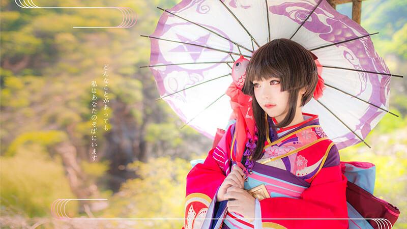 Cosplay Tuyết Nữ – Yuuki Onna cực đáng yêu của coser Tiểu Nhu