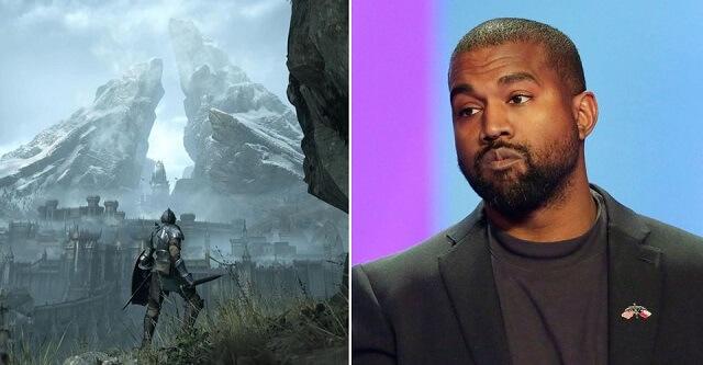Kanye West bất ngờ xuất hiện trong game Demon's Souls Remake