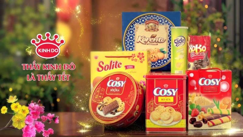 Top 15 Thương hiệu bánh kẹo nổi tiếng ở Việt Nam