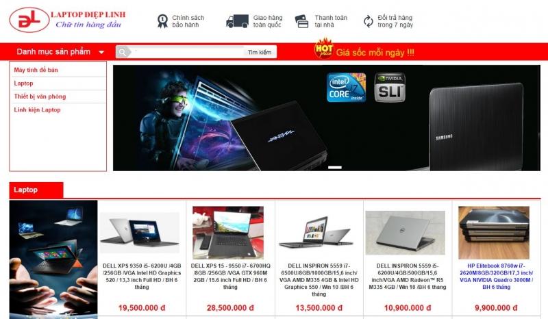 Top 11 địa chỉ mua laptop uy tín nhất Hải Phòng