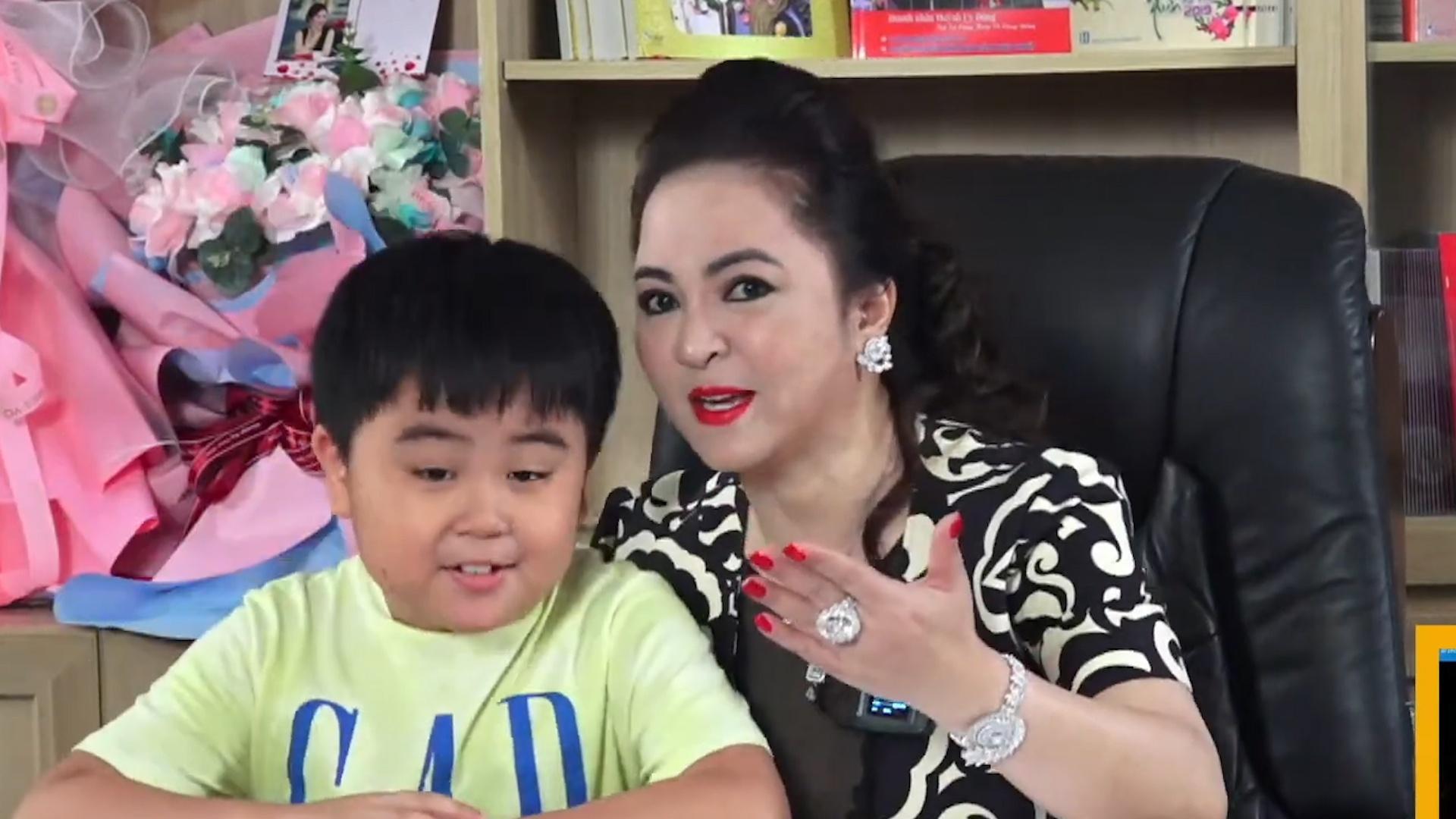 Xuất hiện hàng loạt kênh YouTube giả mạo con trai bà Phương Hằng