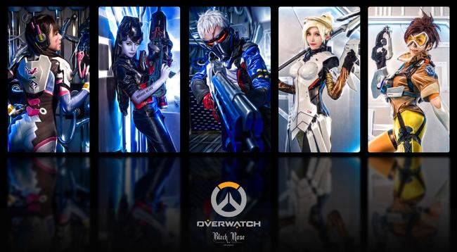 """Loạt ảnh cosplay cực """"ngầu"""" của 5 vị tướng trong Overwatch"""