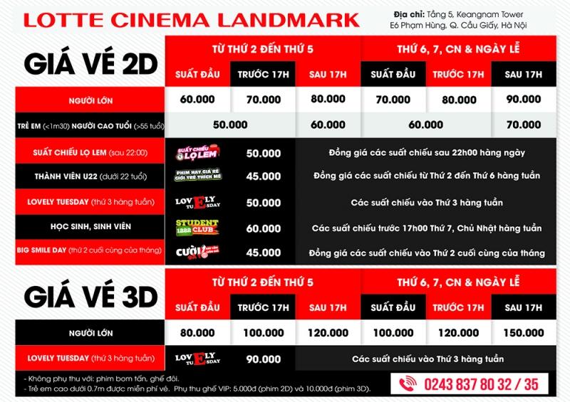 Top 7 Rạp chiếu phim đẹp nhất ở Hà Nội