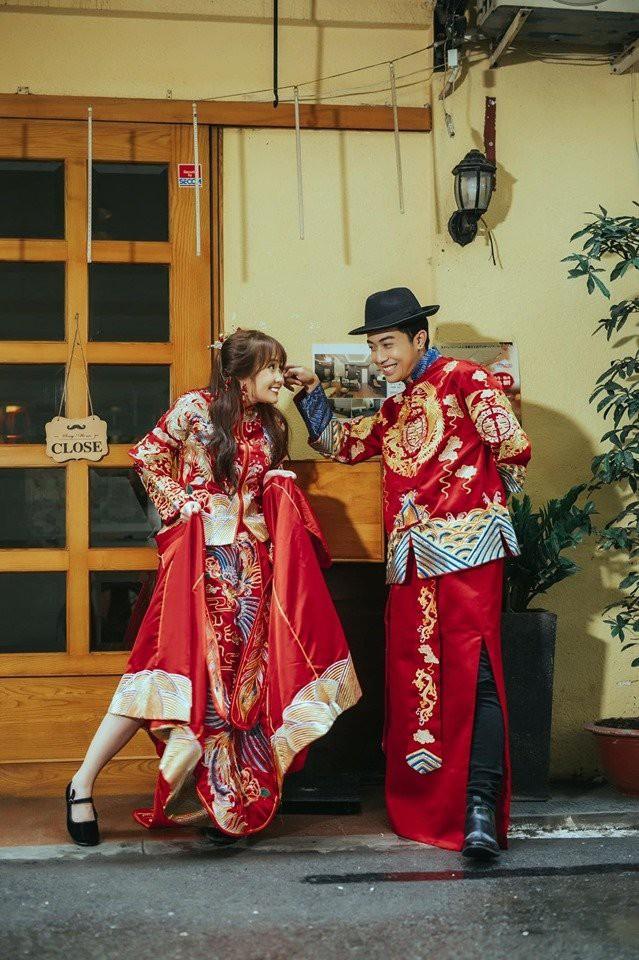 """Mai Quỳnh Anh tung bộ ảnh cưới concept nhí nhố, Cris Devil Gamer vào đá đểu ví vợ """"béo như voi"""""""