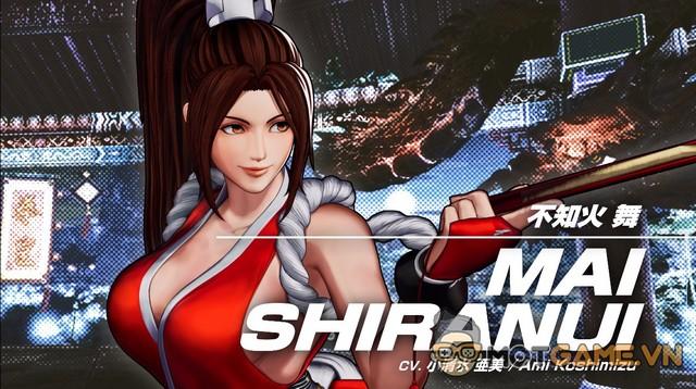 "Mai Shiranui lại khoe ""vựa trái cây"" trong King of Fighters 15"