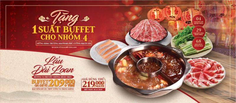 Top 9 Địa chỉ ăn buffet ngon và chất lượng nhất TP. Rạch Giá, Kiên Giang