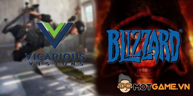 Blizzard Entertainment tính toán gì khi thâu tóm Vicarious Visions?