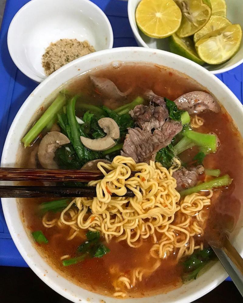 Top 10 địa chỉ ăn mỳ tim cật ngon nhất tại Hà Nội